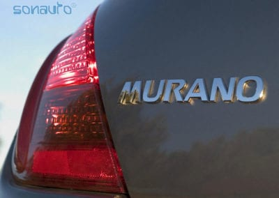 Nissan Murano (frontal JVC con  bluetooth)