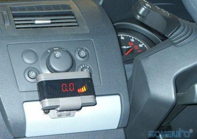 Opel Zafira (sistema Parktronic)